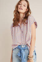 Pilcro And The Letterpress The Serena Surf Henley Blouse
