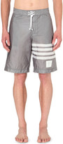 Thom Browne Striped woven swim shorts