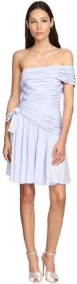 Giambattista Valli Silk & Viscose Crepe Mini Dress