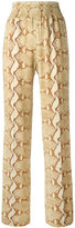 Givenchy snakeskin print trousers - women - Spandex/Elastane/Viscose - 38