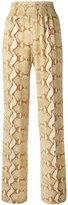 Givenchy snakeskin print trousers - women - Spandex/Elastane/Viscose - 40