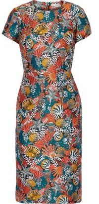 Mary Katrantzou Korali Brocade Dress