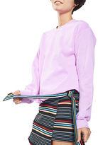 Topshop Fluro Sweatshirt