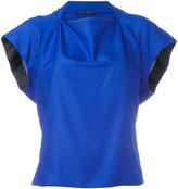 Haider Ackermann slash neck top - women - Silk/Acetate/Rayon - 38