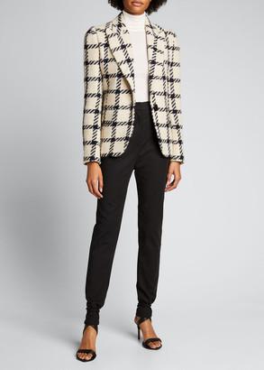 Isabel Marant Tie-Cuff High-Waist Pants
