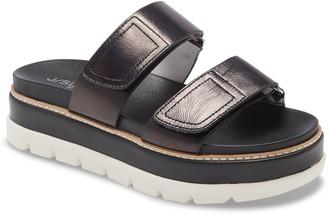 J/Slides Betsey Platform Slide Sandal