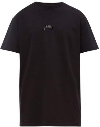 A-Cold-Wall* A Cold Wall* Logo-print Cotton T-shirt - Mens - Black