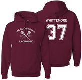 The Creating Studio Adult Teen Wolf Whittemore 37 Hoodie