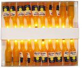 Kurt Adler Corona Beer Bottle Indoor / Outdoor String Lights by