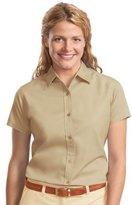 Port Authority Women's Short Sleeve Easy Care Shirt L