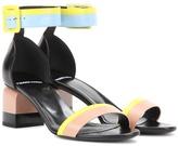 Pierre Hardy Memphis Leather Sandal