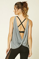 Forever 21 FOREVER 21+ Active Twisted Open-Back Tank