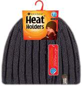 Heat Holders - Mens Thermal Fleece Cable knit Winter hat 3.4 tog