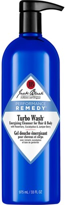 Jack Black Performance Remedy Turbo Wash Energizing Cleanser for Hair & Body