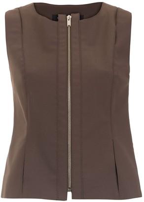 Gloria Coelho Zipped Waistcoat