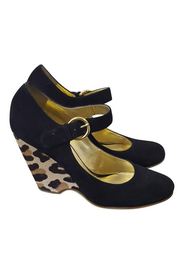 Giuseppe Zanotti Velvet heels