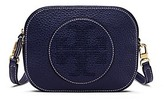 Tory Burch Perforated-Logo Round Cross-Body