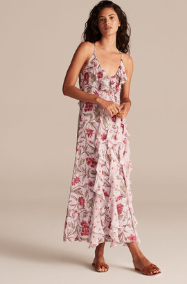 Rebecca Taylor Zadie Fleur Ruffle Dress