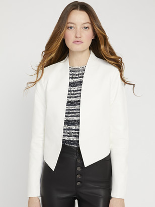 Alice + Olivia NEW HARVEY LEATHER JACKET