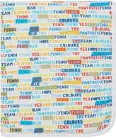 Fendi motivational blanket