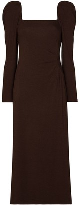 Johanna Ortiz Ember New World puff-sleeve dress