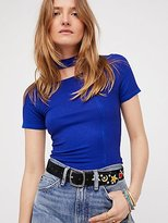 Free People Embroidered Icon Belt