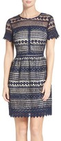 Vince Camuto Women's Lace Fit & Flare Dress