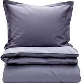 Gant Sateen Double Duvet Cover - Grey