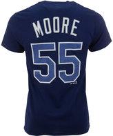 Majestic Men's Short-Sleeve Matt Moore Tampa Bay Rays Player T-Shirt