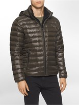 Calvin Klein Packable Down Hooded Puffer Jacket
