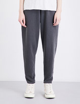 NSF Yana relaxed-fit high-rise cotton-jersey jogging bottoms
