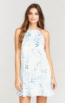 MUMU Gomez Mini Dress ~ Blue Me Away