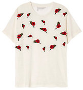 Bannerday Poppy Embroidered Tee