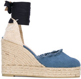 Castaner wedge espadrilles - women - Leather/Canvas/rubber - 37