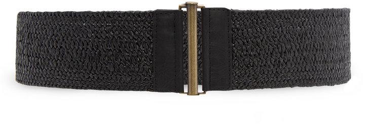 MANGO Elasticated braided belt