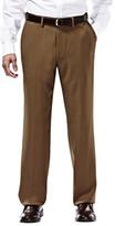 Haggar Repreve Stria Dress Pant - Classic Fit, Flat Front, Expandable Waist