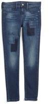 Joe's Jeans Girl's Teagan Patchwork Skinny Jeans