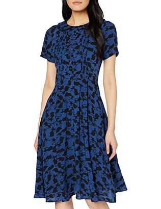Joe Browns Women's Glamourpuss Dress, Blue (Navy/Black (Size:)