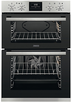 Zanussi ZOD35661XK Built-In Multifunction Electric Double Oven, Stainless Steel