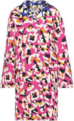 Mary Katrantzou Spence Cotton-blend Textured-jacquard Coat