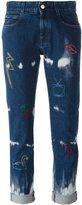 Stella McCartney embroidered 'Boyfriend' jeans