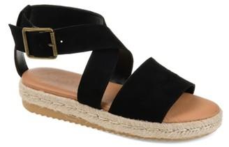 Journee Collection Trinity Espadrille Platform Sandal