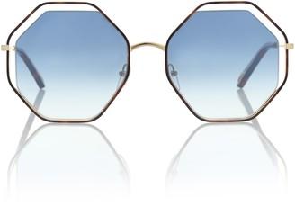 Chloé Poppy octagonal sunglasses