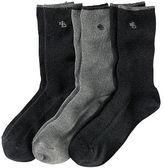 Ralph Lauren Ribbed Trouser Sock 3-Pack