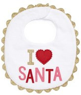 Mud Pie I Love Santa Bib