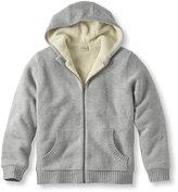 L.L. Bean Sherpa Fleece-Lined Sweater, Hoodie