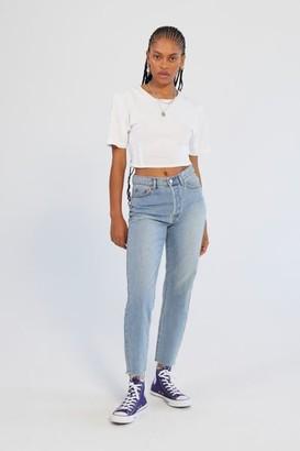 BDG High-Waisted Slim Straight Jean - Light Wash