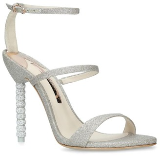 Sophia Webster Glitter Rosalind Sandals 100