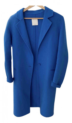 Sandro Blue Wool Coats