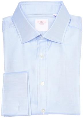 Thomas Pink Royal Twill Long Sleeve Slim Fit Shirt